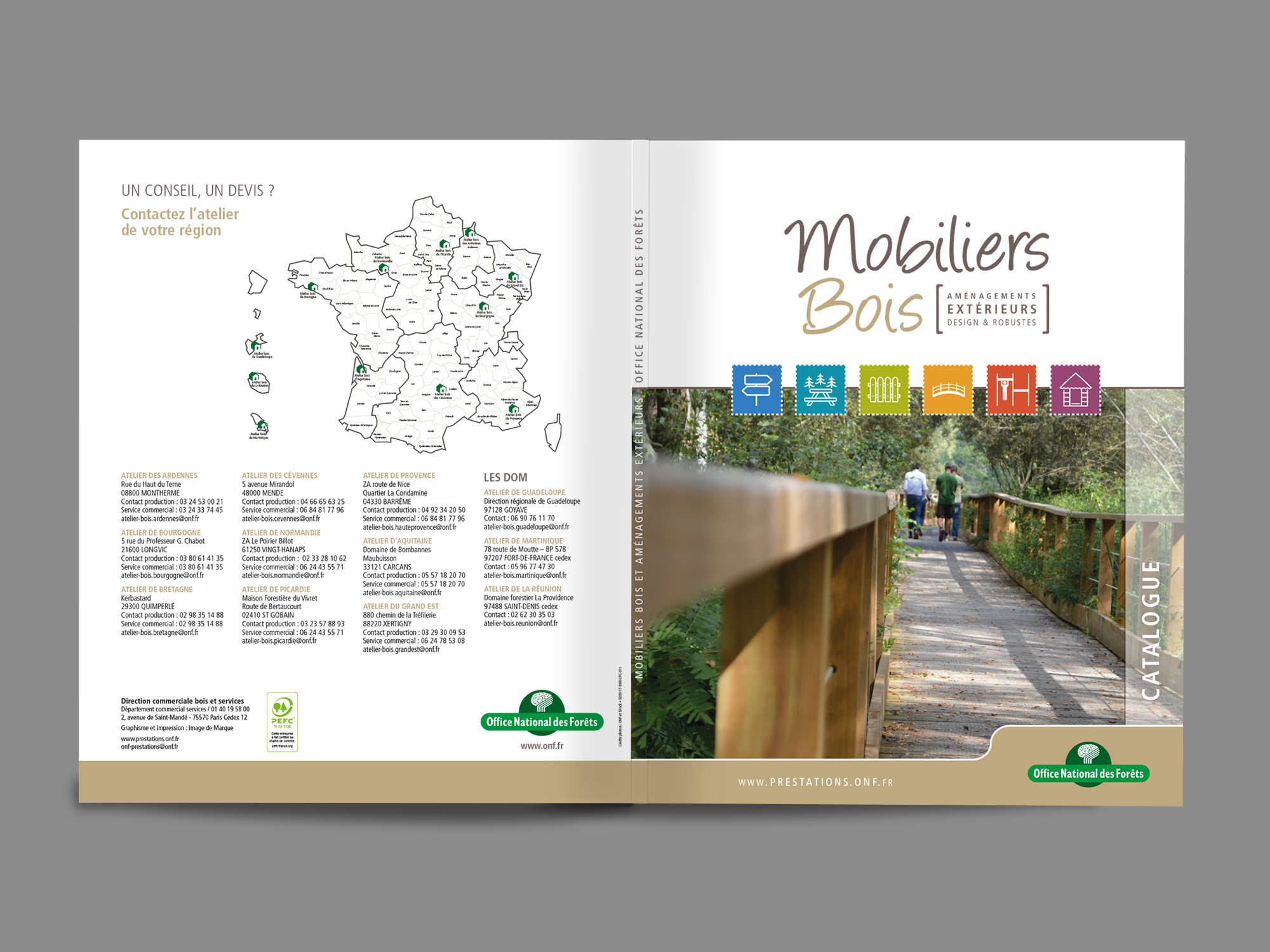 Office Nationale des Forêts - Catalogue
