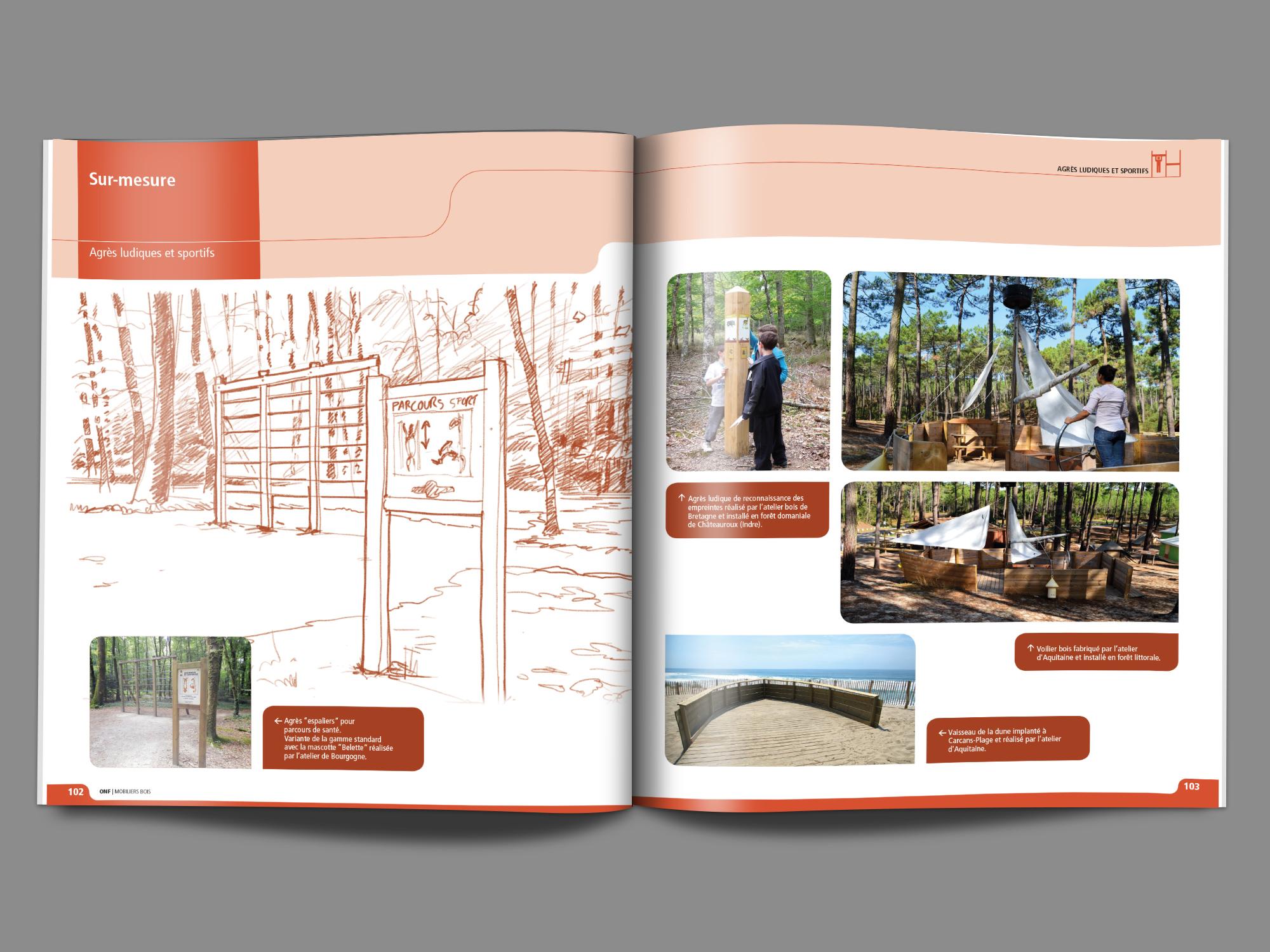 Office Nationale des Forêts - Catalogue
