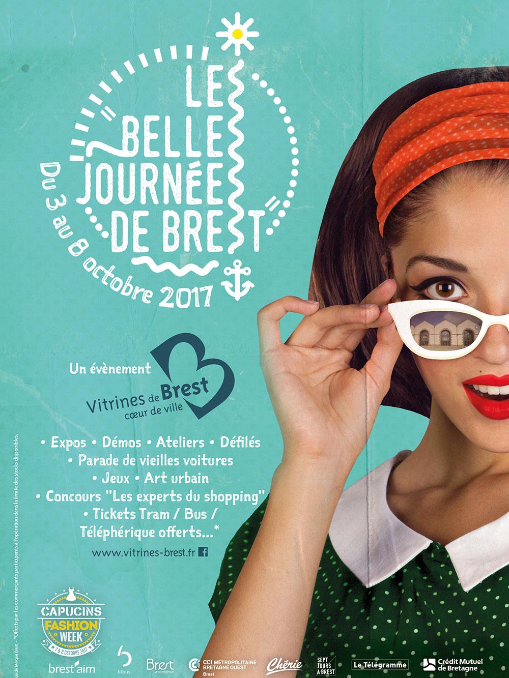 Affiche les belles journées de Brest aux Capucins